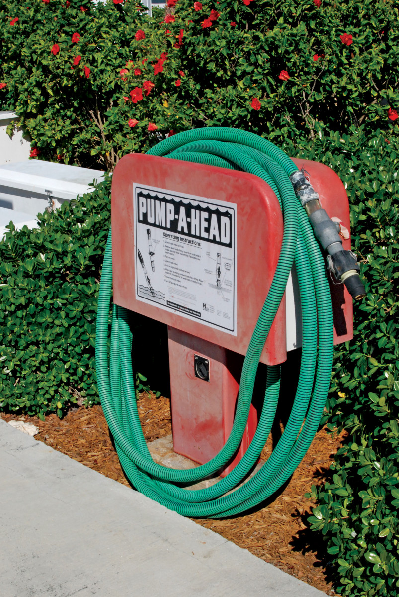 How often should you visit your local pump-out station?