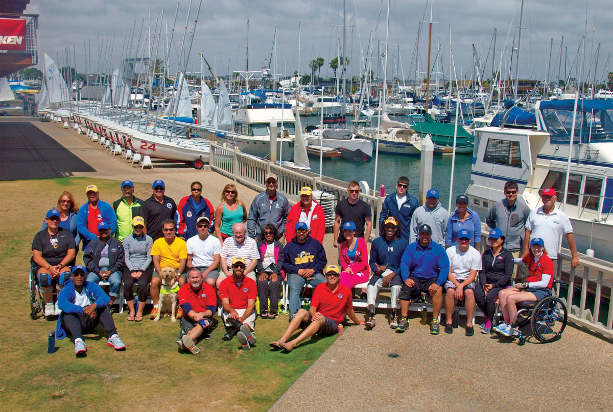 The Warrior Sailing Program pays a visit to the San Diego