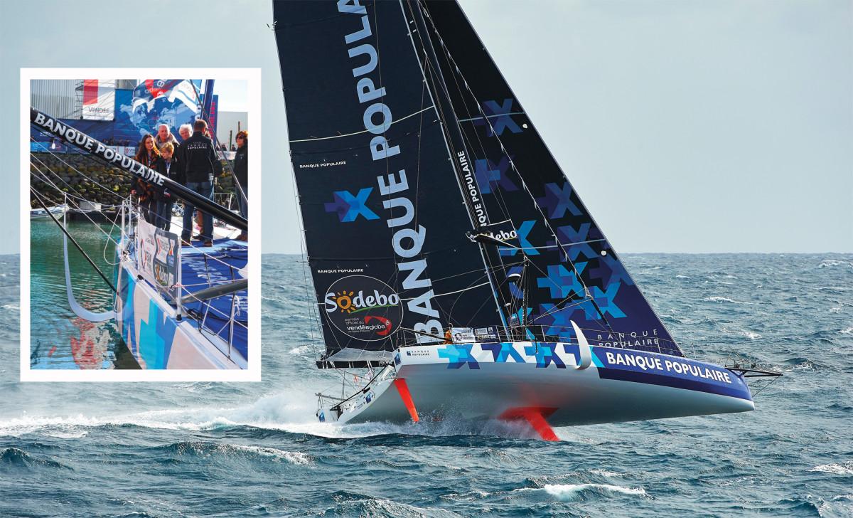 2016-17 Vendée Globe winner Banque Populaire VIII