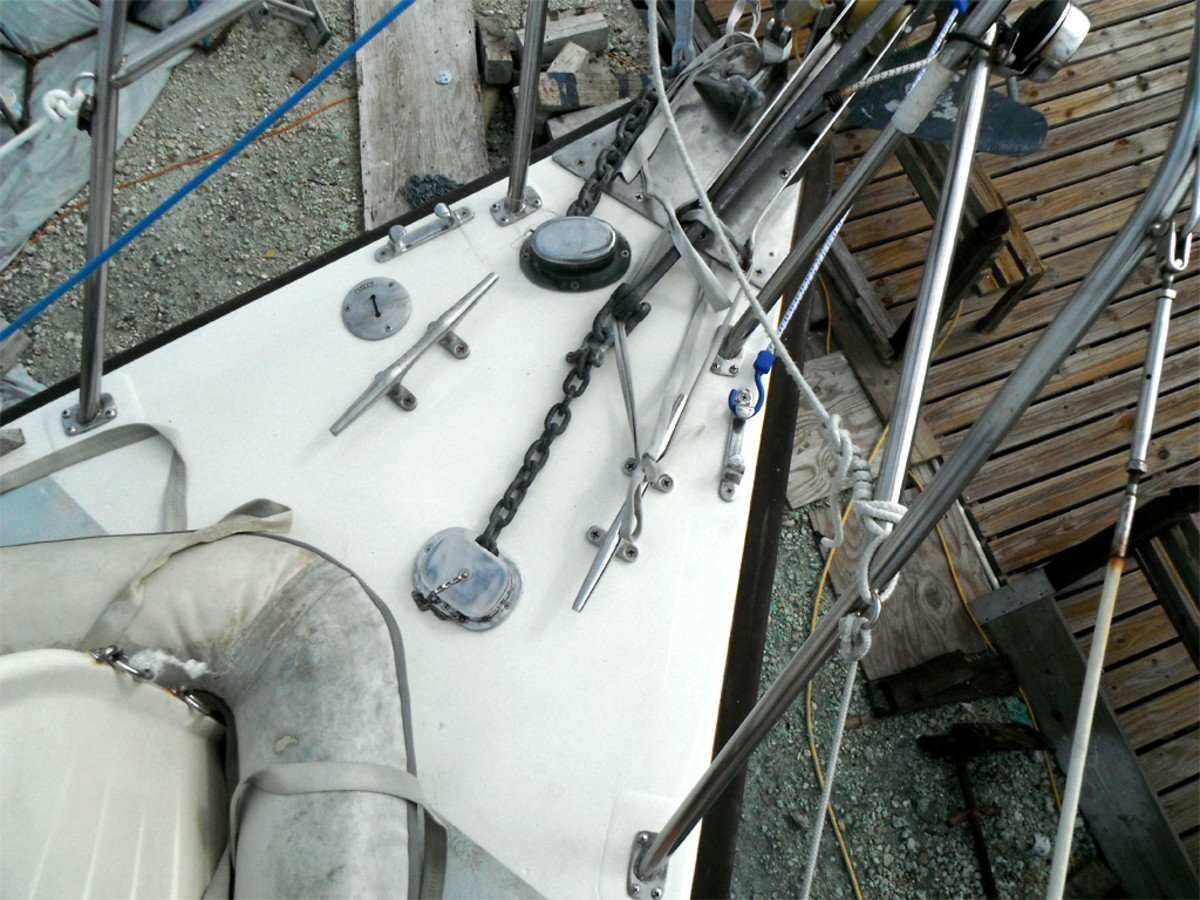 Foredecks on cruising boats take a pounding, and a rotten or delaminated core is a common problem