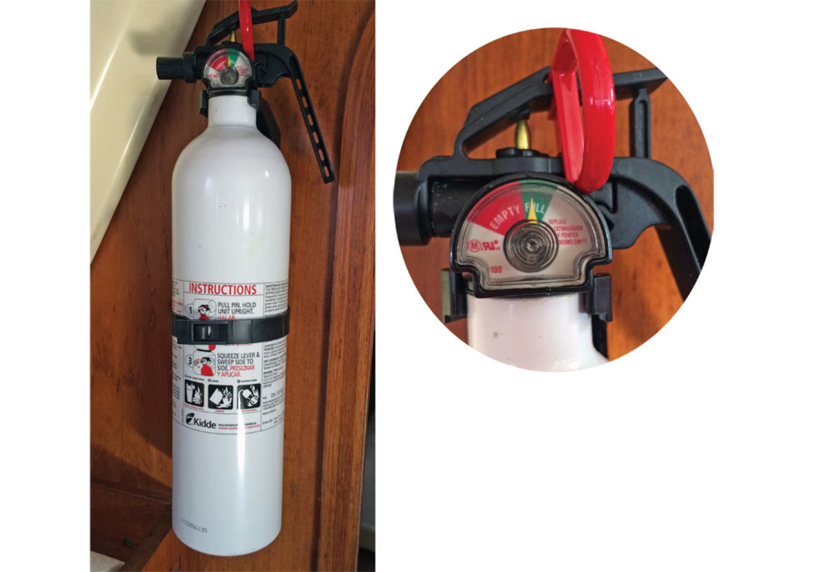 What Does The Letter B On A B1 Fire Extinguisher.Know Your Fire Extinguishers Sail Magazine