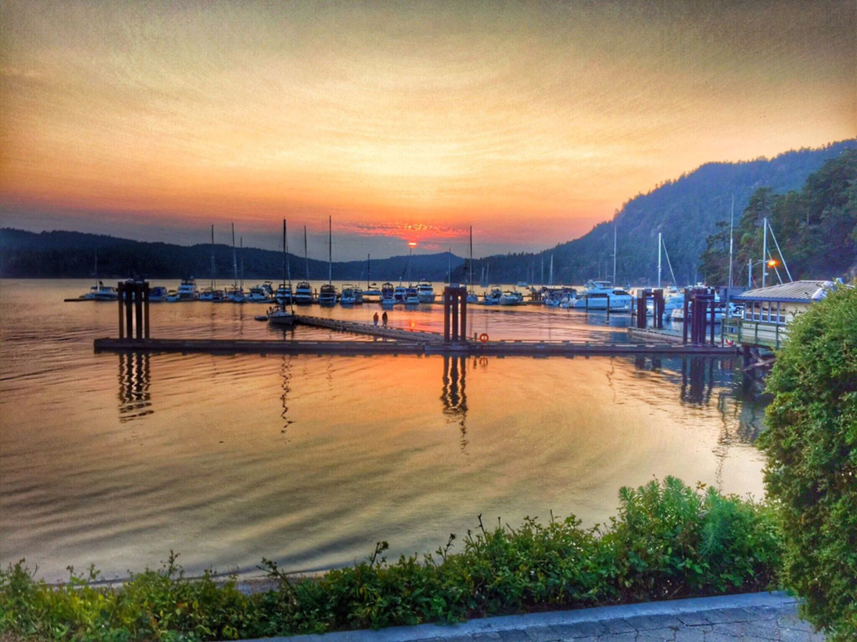 I took this shot after coming ashore in Poets Cove on South Pender Island in British Columbia. —David Birken