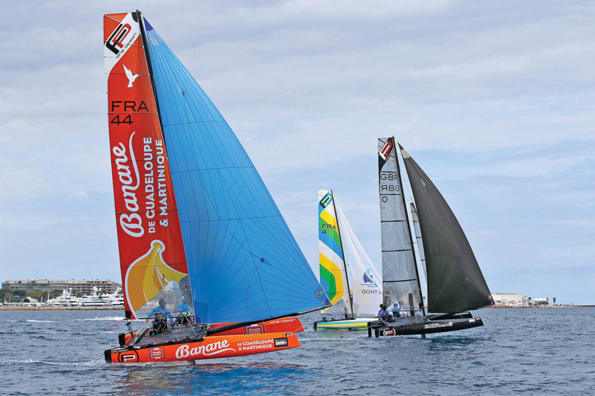 Racing in full-foiling mode is another proposition altogether