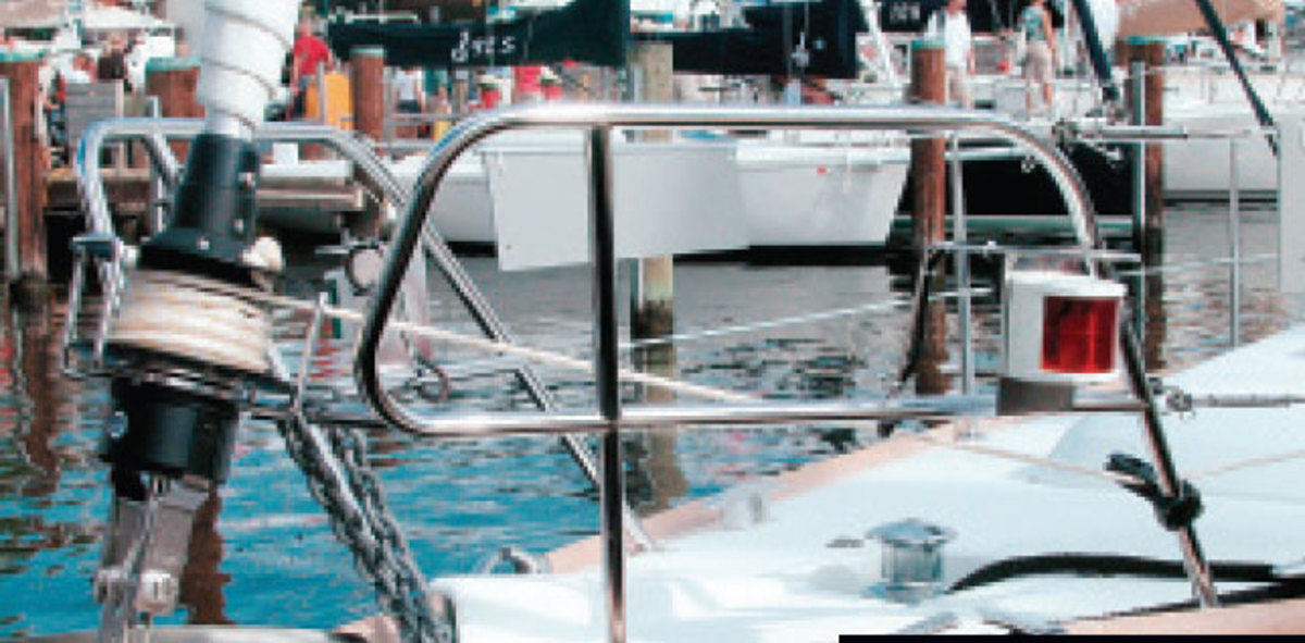 Reliable navigation lights are essential and required by law