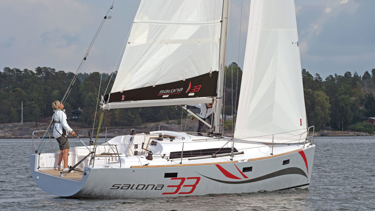 A slick and speedy multipurpose sailer from Croatia