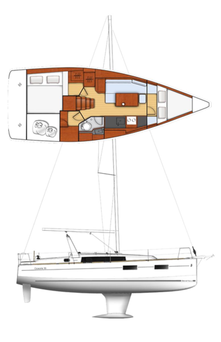 Beneteau35-sailplan