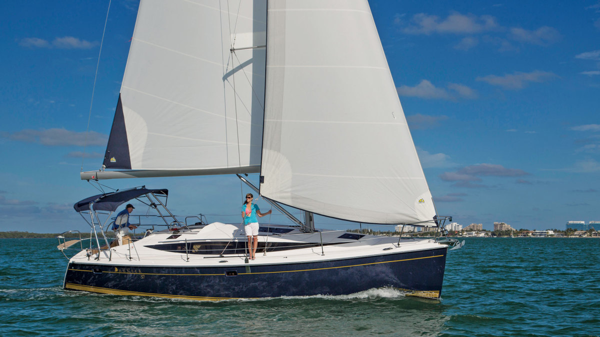 A Big Little Sistership: An able 37-foot cruiser with lots of space and