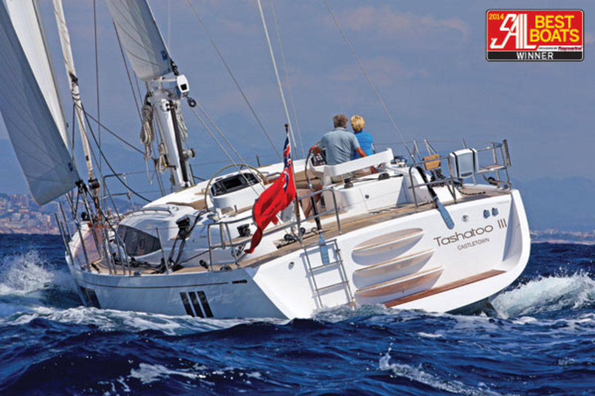 The Gunfleet 58 boasts systems and performance that are as impressive as its gorgeous looks