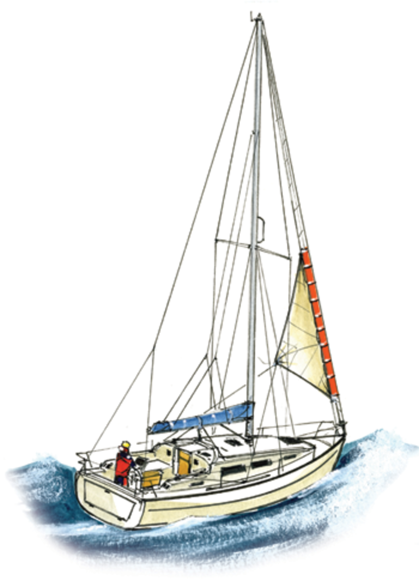 There is no cause for a coastal cruising boat to carry a trysail, but you may be glad of a storm jib