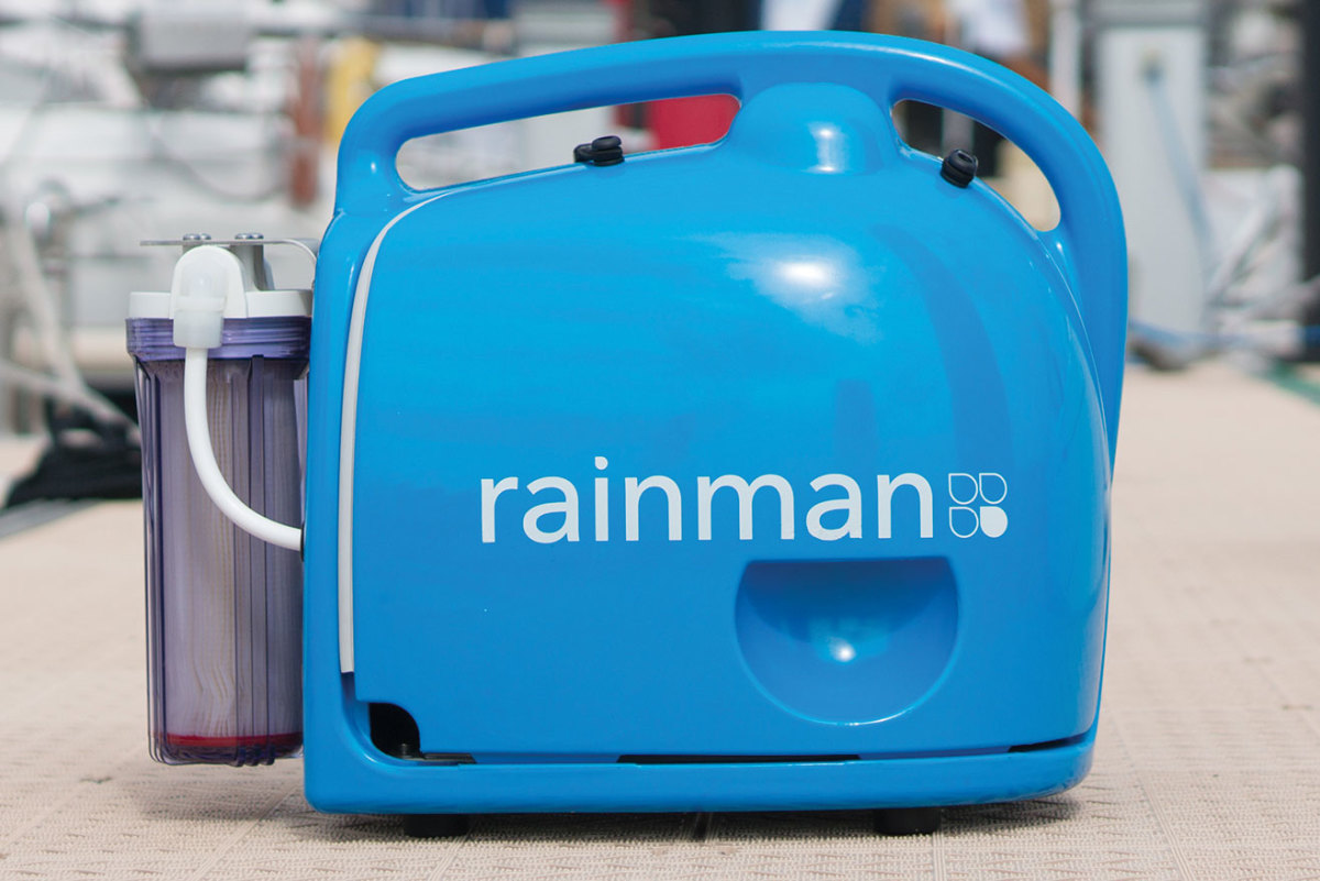 Rainman-pressure-unit-on-dock
