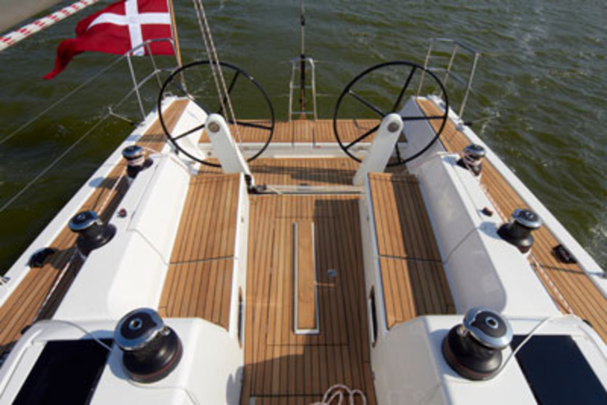 The Xp 38 boast an outstanding helm station