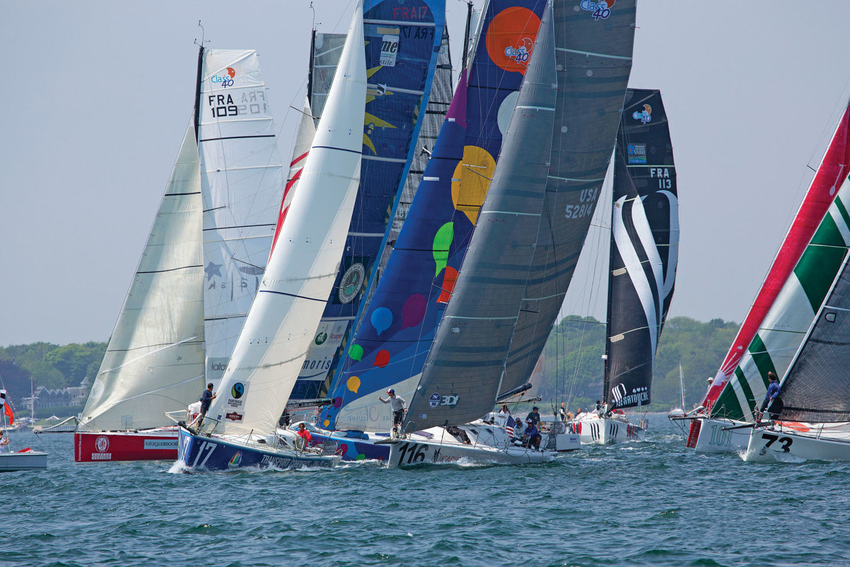 The Atlantic Cup's inshore series is always hotly contested