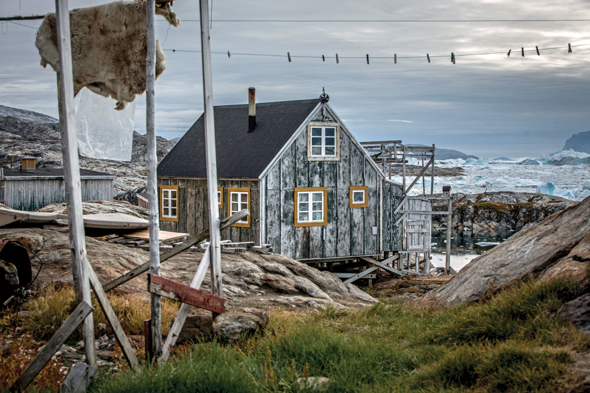 A hunter's house in Tiniteqilaaq. Photo courtesy of Mads Pihl/Visit Greenland