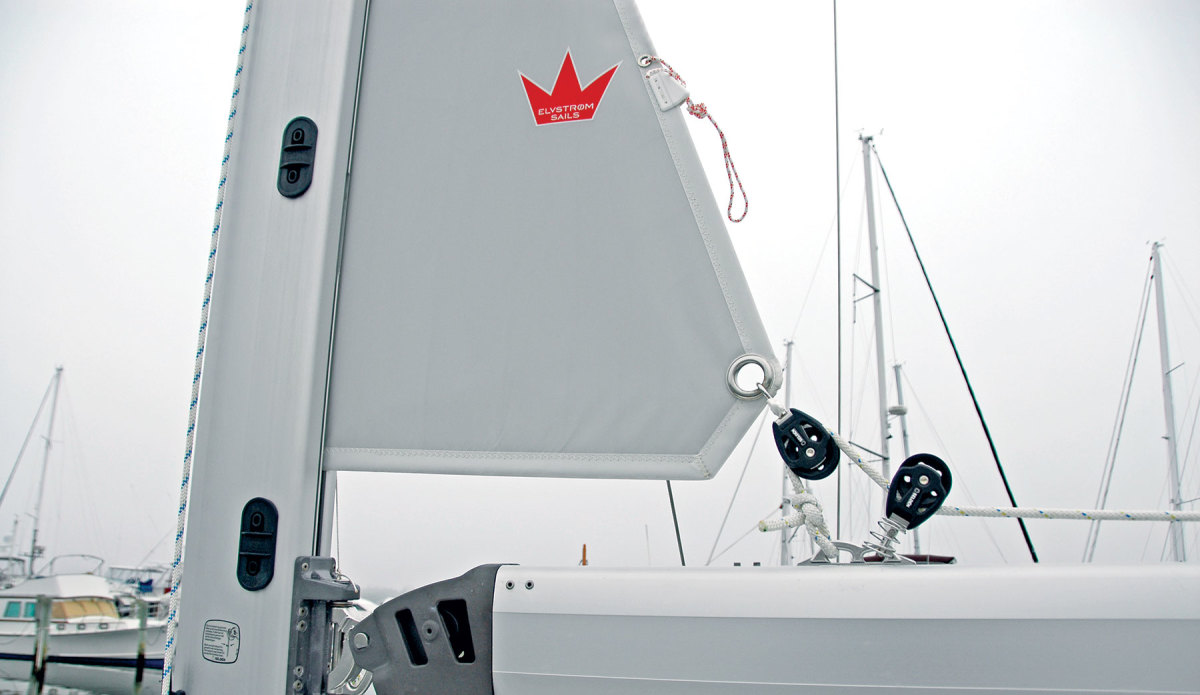 In-mast furling mains are increasingly seen on bluewater boats, but there are better options