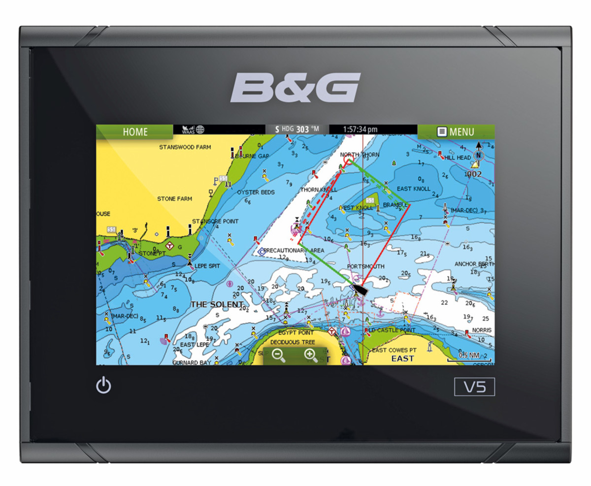 B&G Vulcan 5 Sailing Chartplotter
