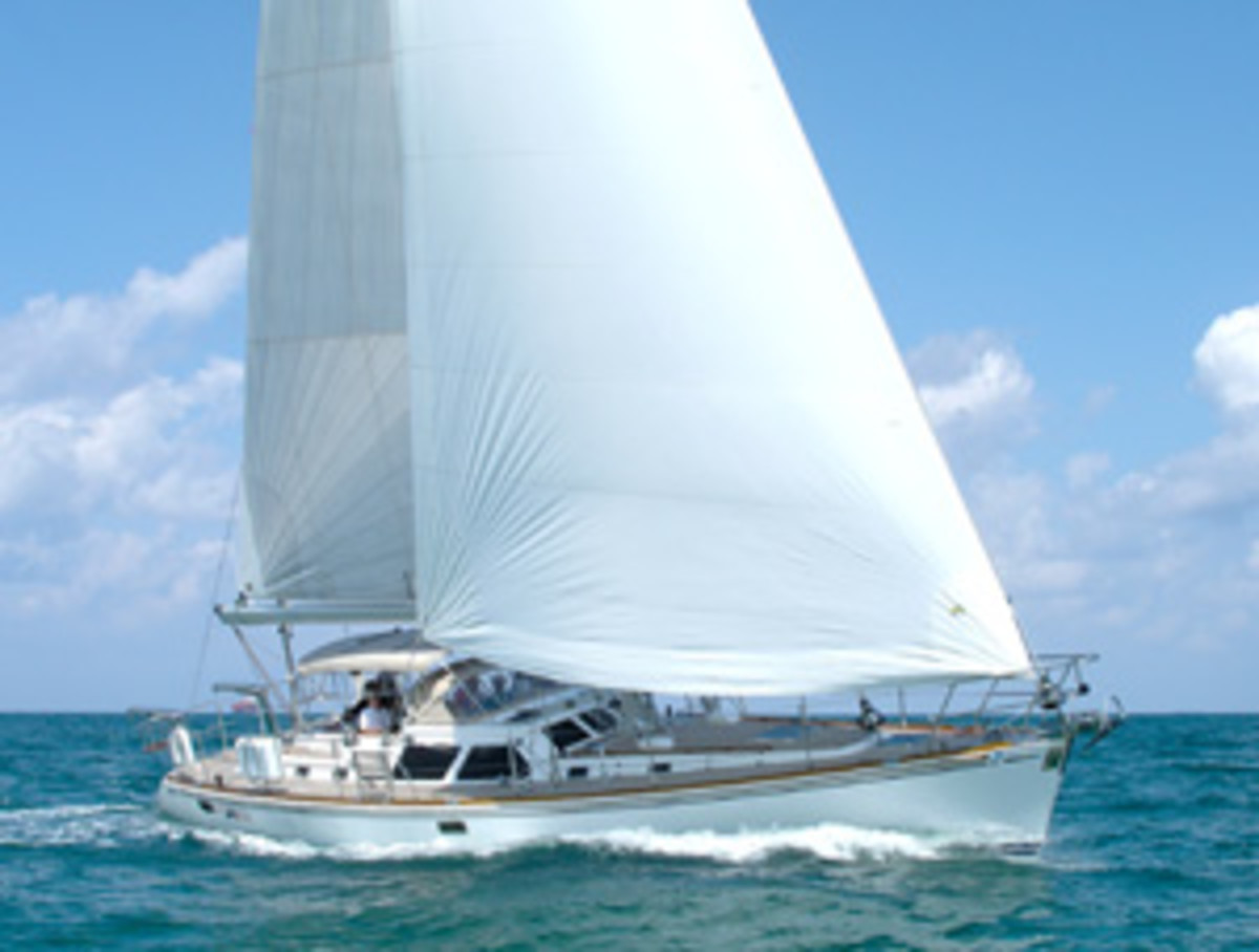 The Hylas 54 is a common sight in the Caribbean 1500