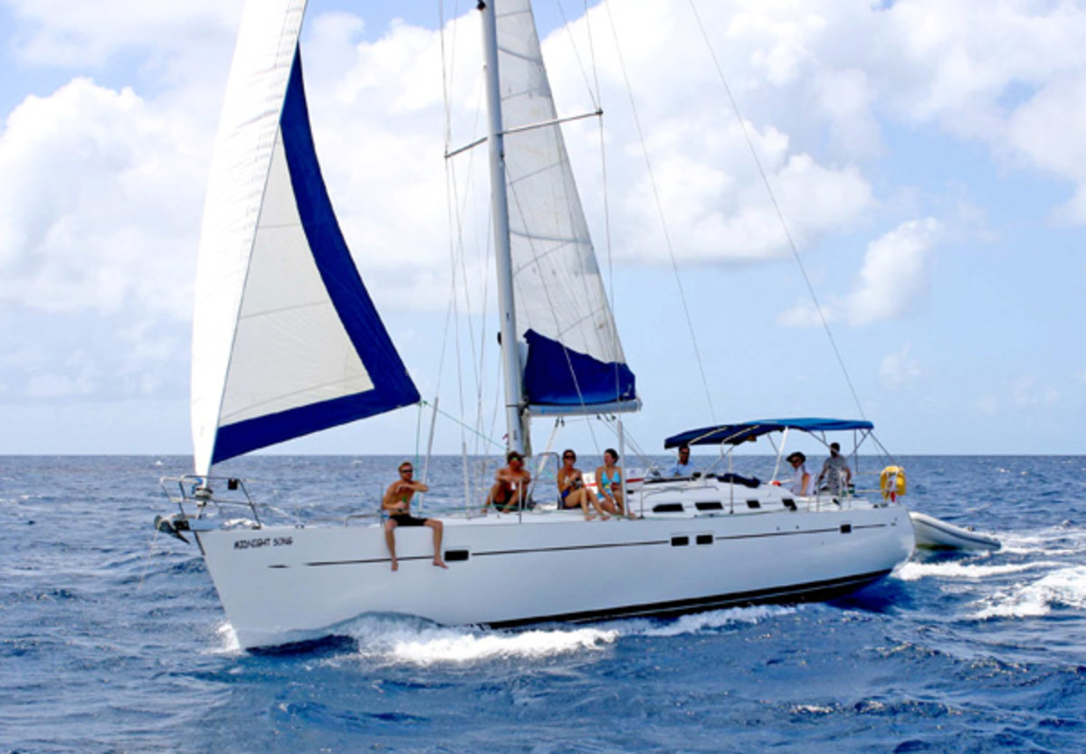 Beneteau's Oceanis 473 was a staple of charter fleets worldwide