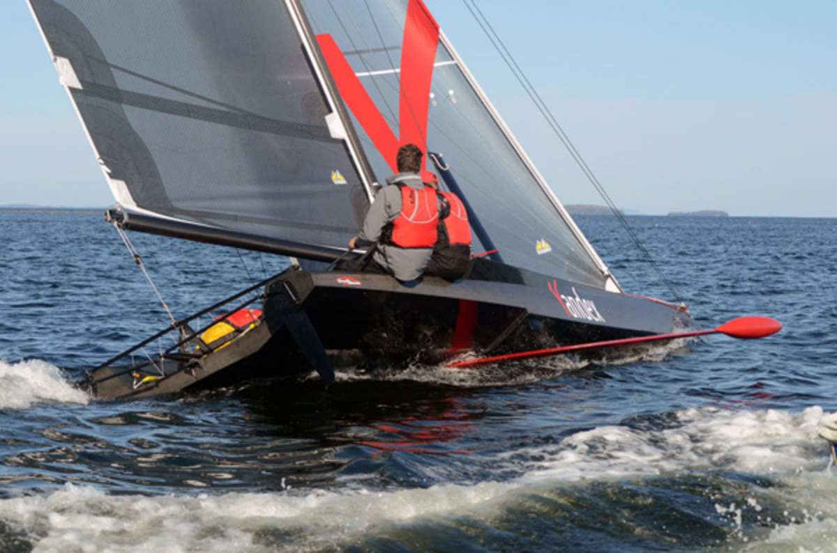 The 27-foot Yandex is currently undergoing testing in Europe