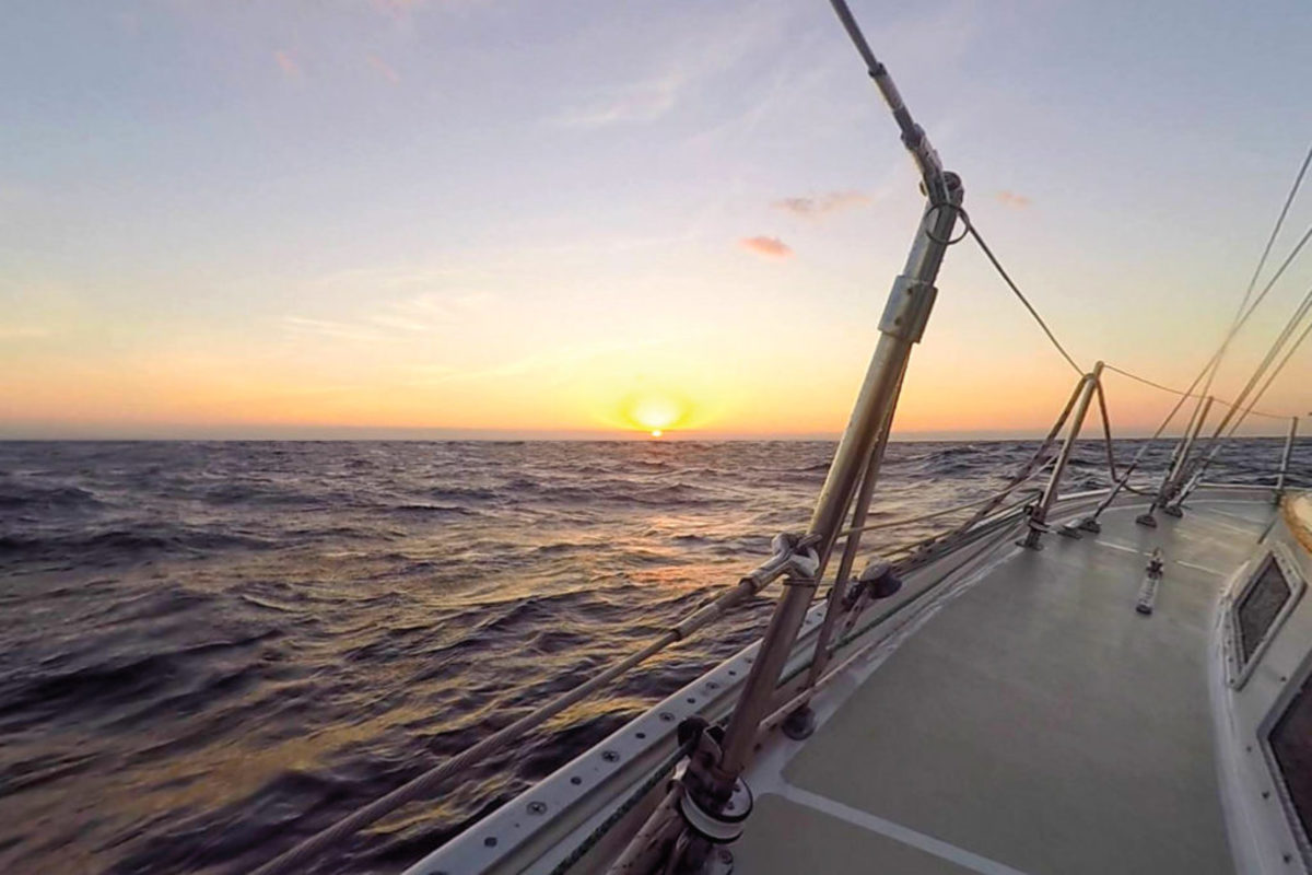 Cruising isn't all about smooth sailing and spectacular sunrises