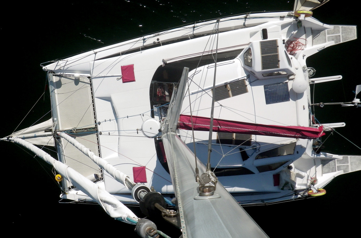 Catamaran sailors  depend on snubbers and bridles for everyday anchoring, not just for  heavy weather