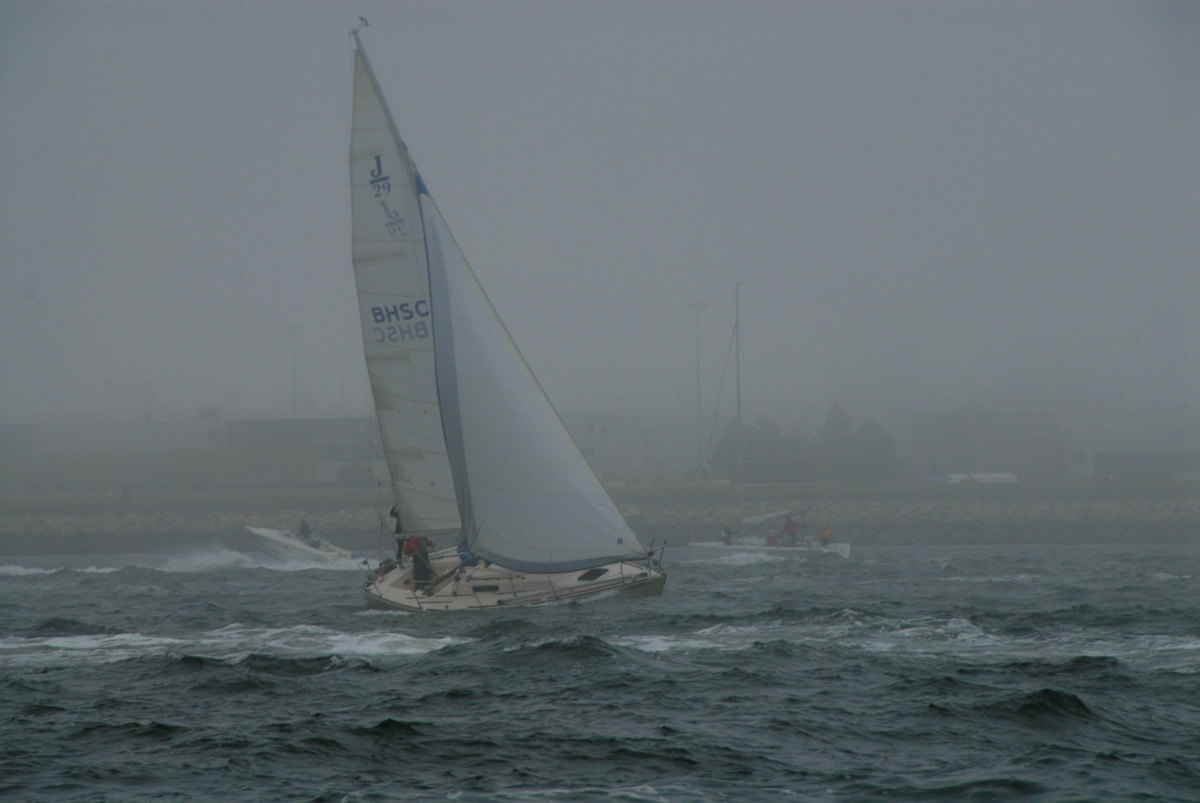 The sailors of old would use soundings to help them pick their way through dense fog