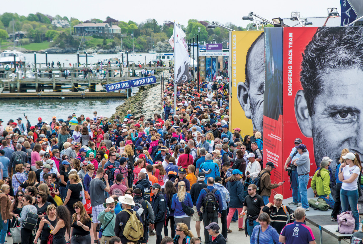 More than 131,000 people made the trip out to Fort Adams for the last VOR