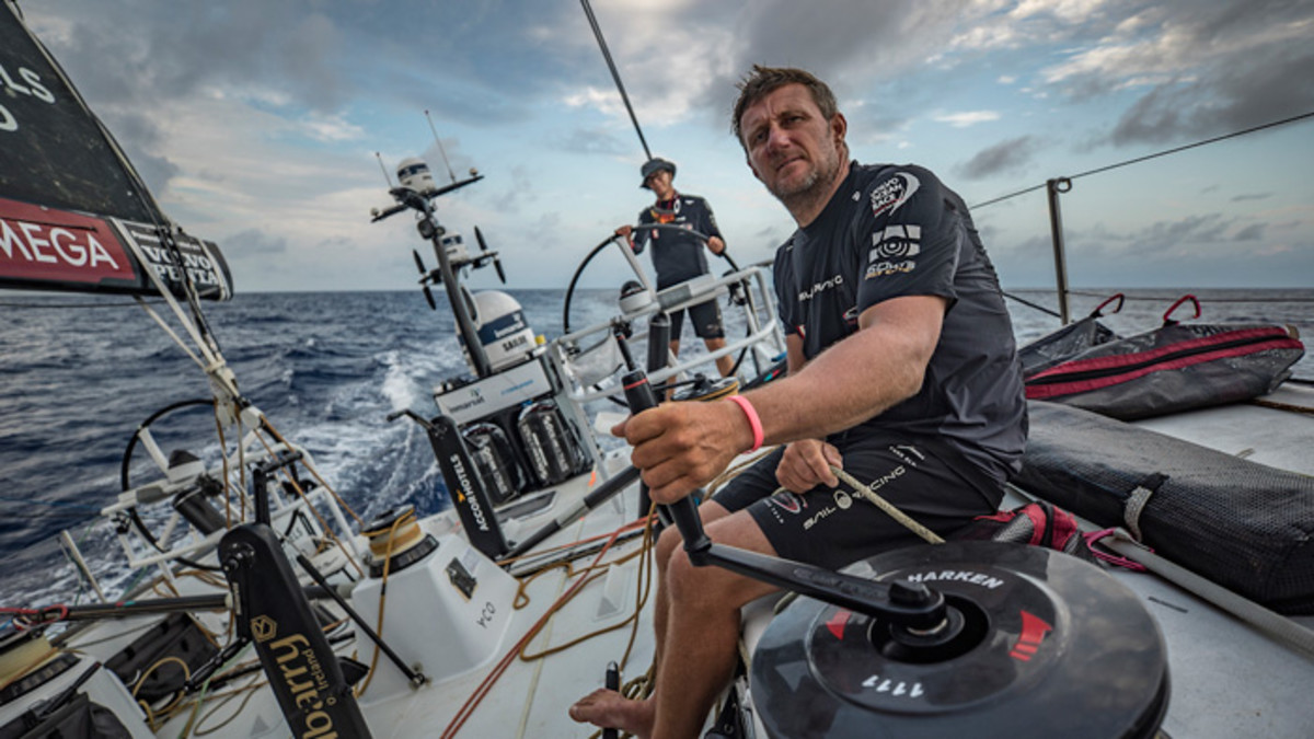 British sailor John Fisher, from Team Sun Hung Kai/Scallywag, is now presumed lost at sea