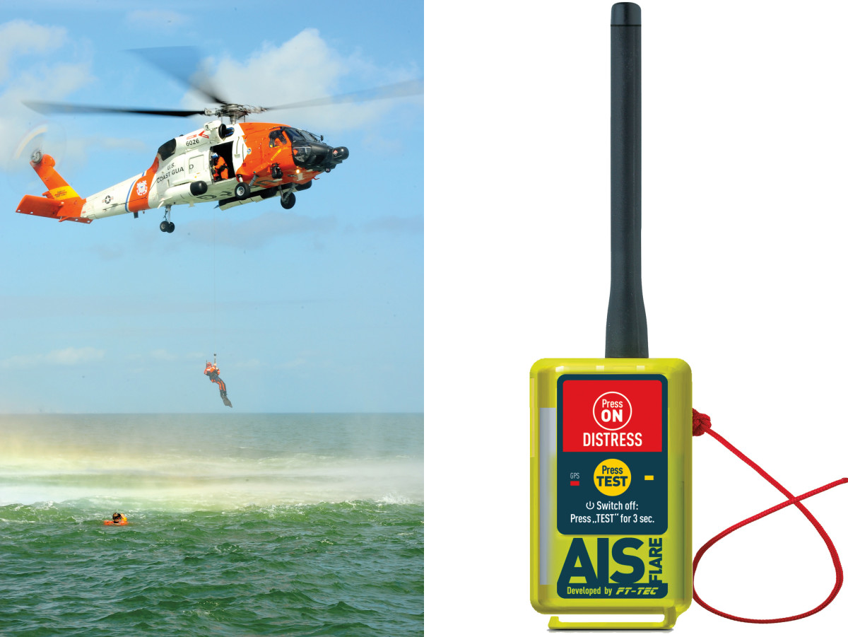 An increasing number of Search and Rescue organizations are equipping their helicopters with AIS to help locate victims