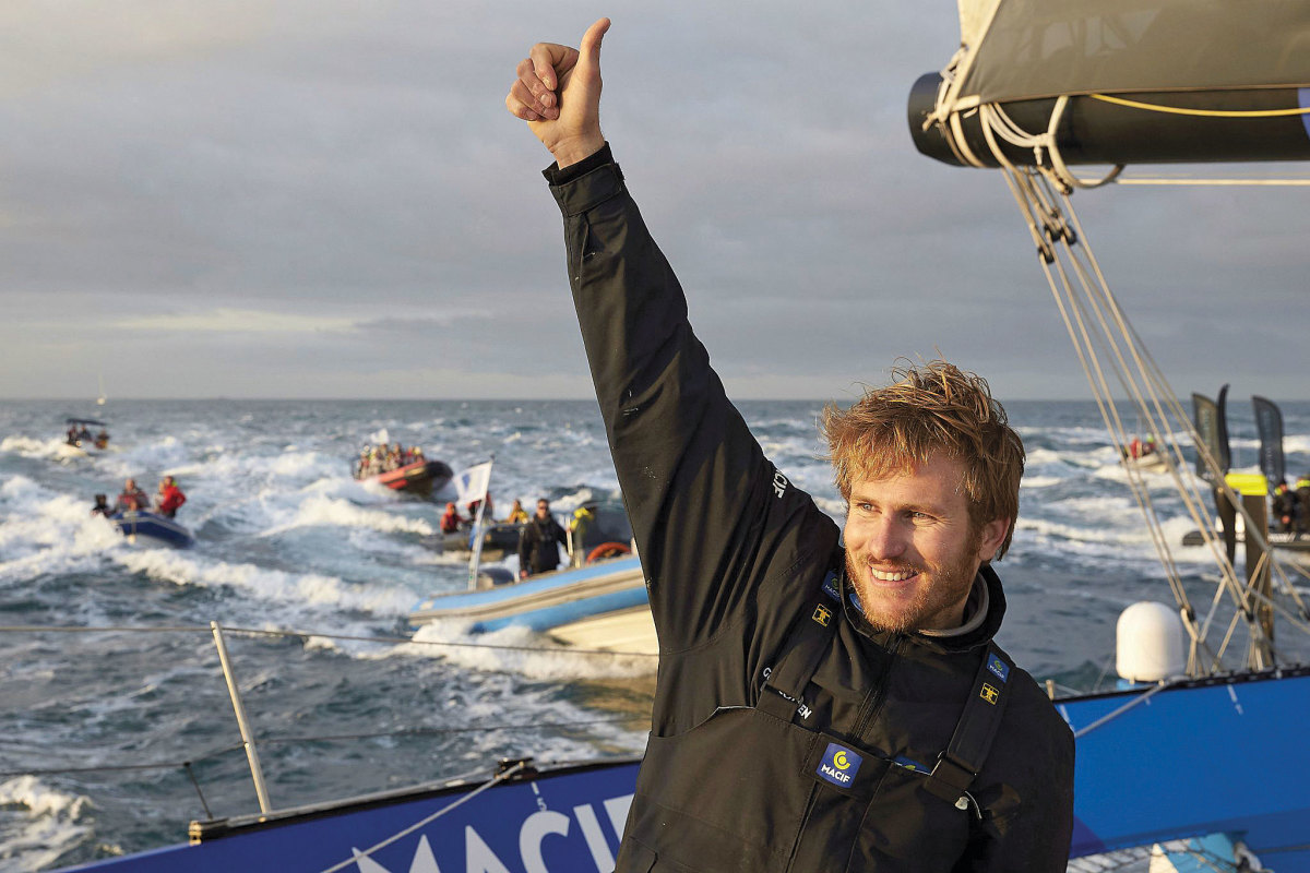 It hasn't taken long for Gabart to rise to the pinnacle of the solo-sailing world