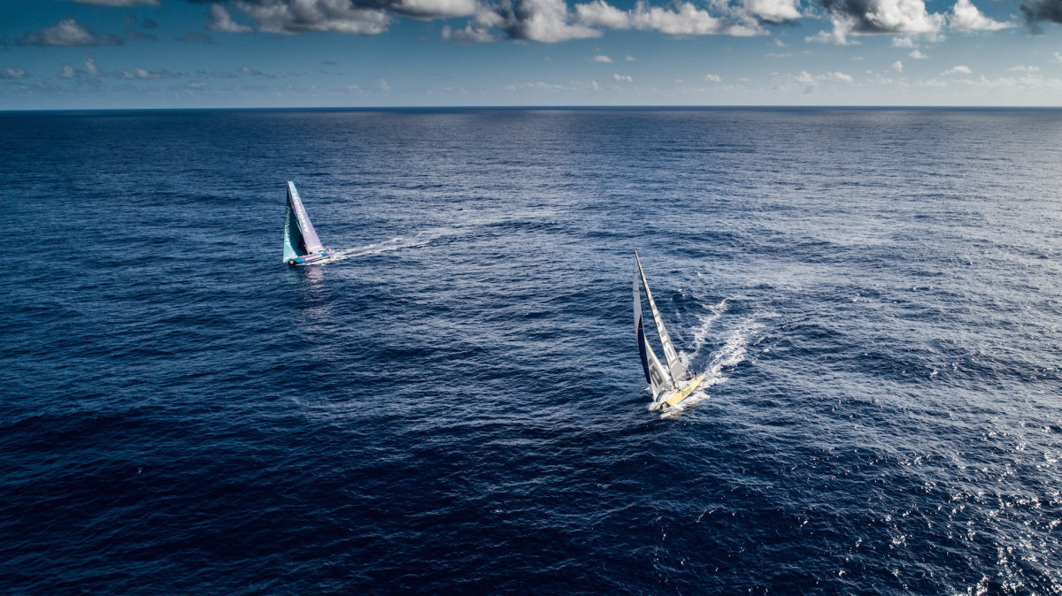 The racing on the leg from Brazil to Newport, Rhode Island, has once again been incredibly close