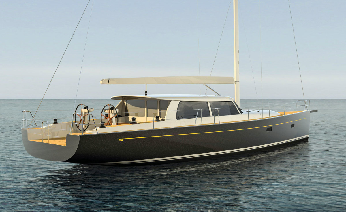 The Sou'Wester 53 is the first new cruising boat from Hinckley in many years