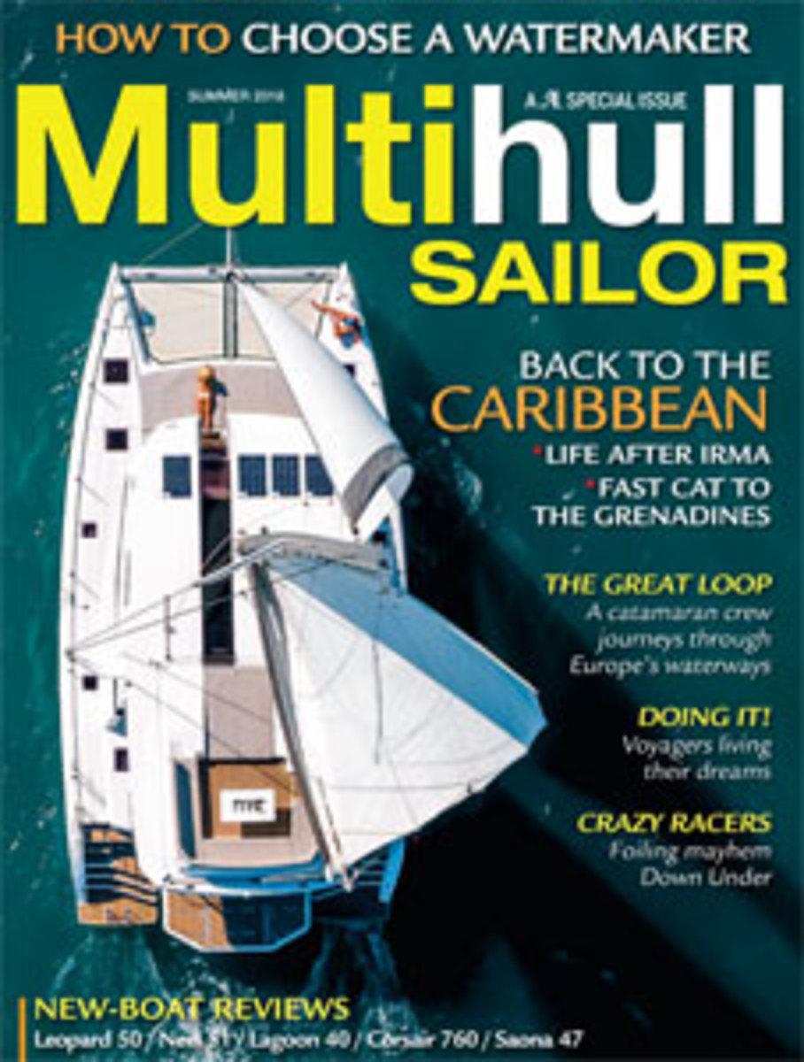 Multihull Sailor, Summer 2018