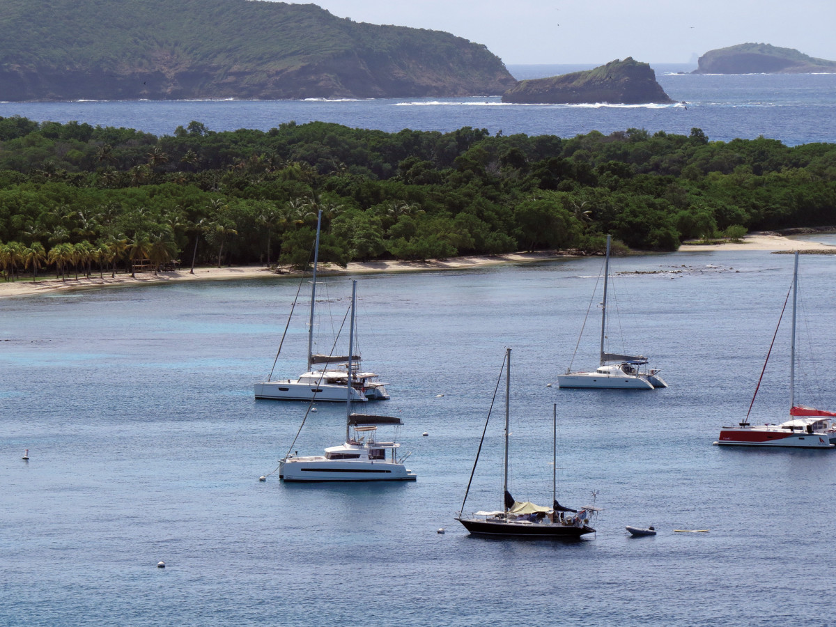 There's no waiting for moorings in Mustique during the off season