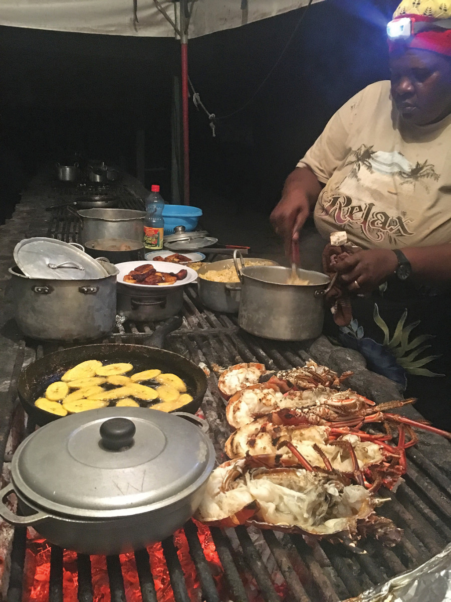 A Tobago Cays beach barbeque is a must. But bring your own bug spray