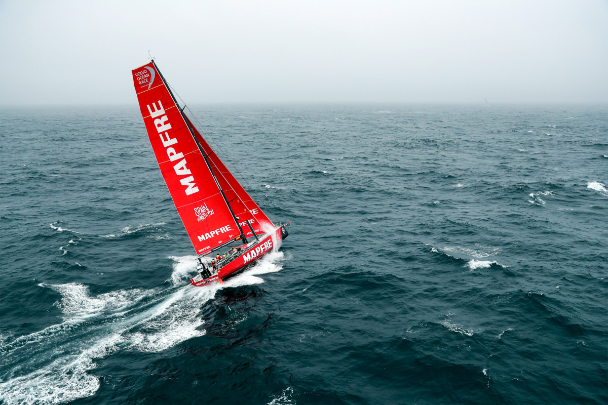 After a strong showing in the early stages of the race, including a pair of wins in Legs 2 and 3, Spanish-flagged Mapfre now finds itself very much looking like the underdog