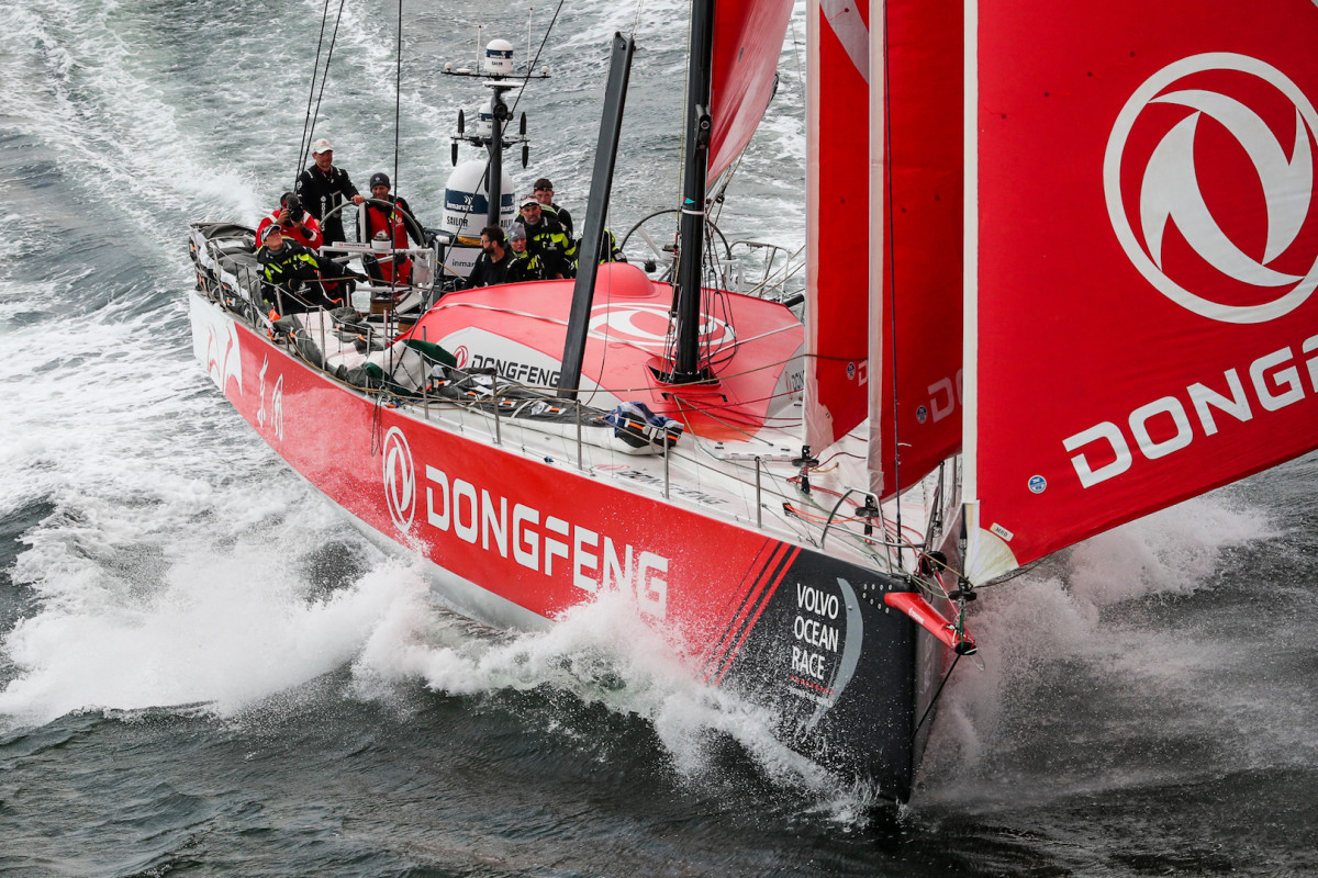 Like Mapfre, there was a time when Dongfeng looked like the boat to beat. Now it feels like the joint French/Chinese effort has its back against the wall