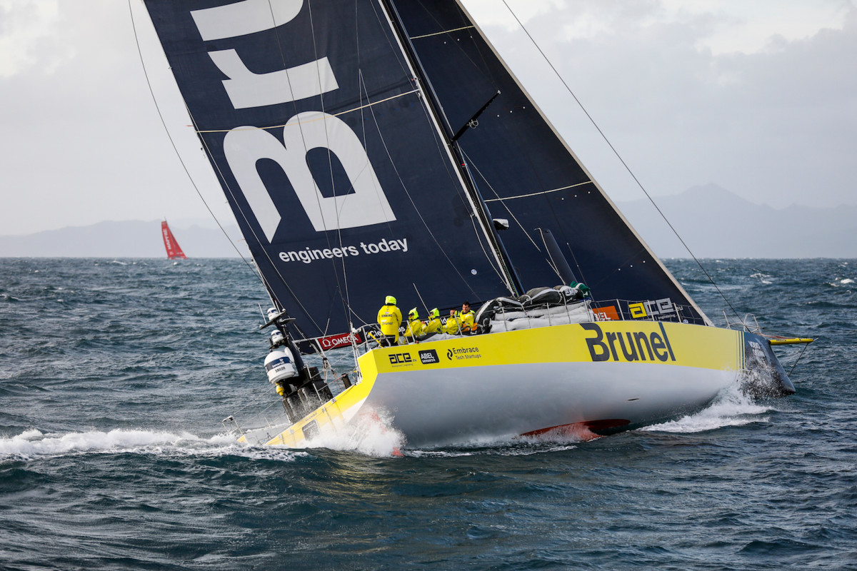 Ever since winning Leg 7, from New Zealand to Brazil, Dutch-flagged Brunel has just seemed to get better and better