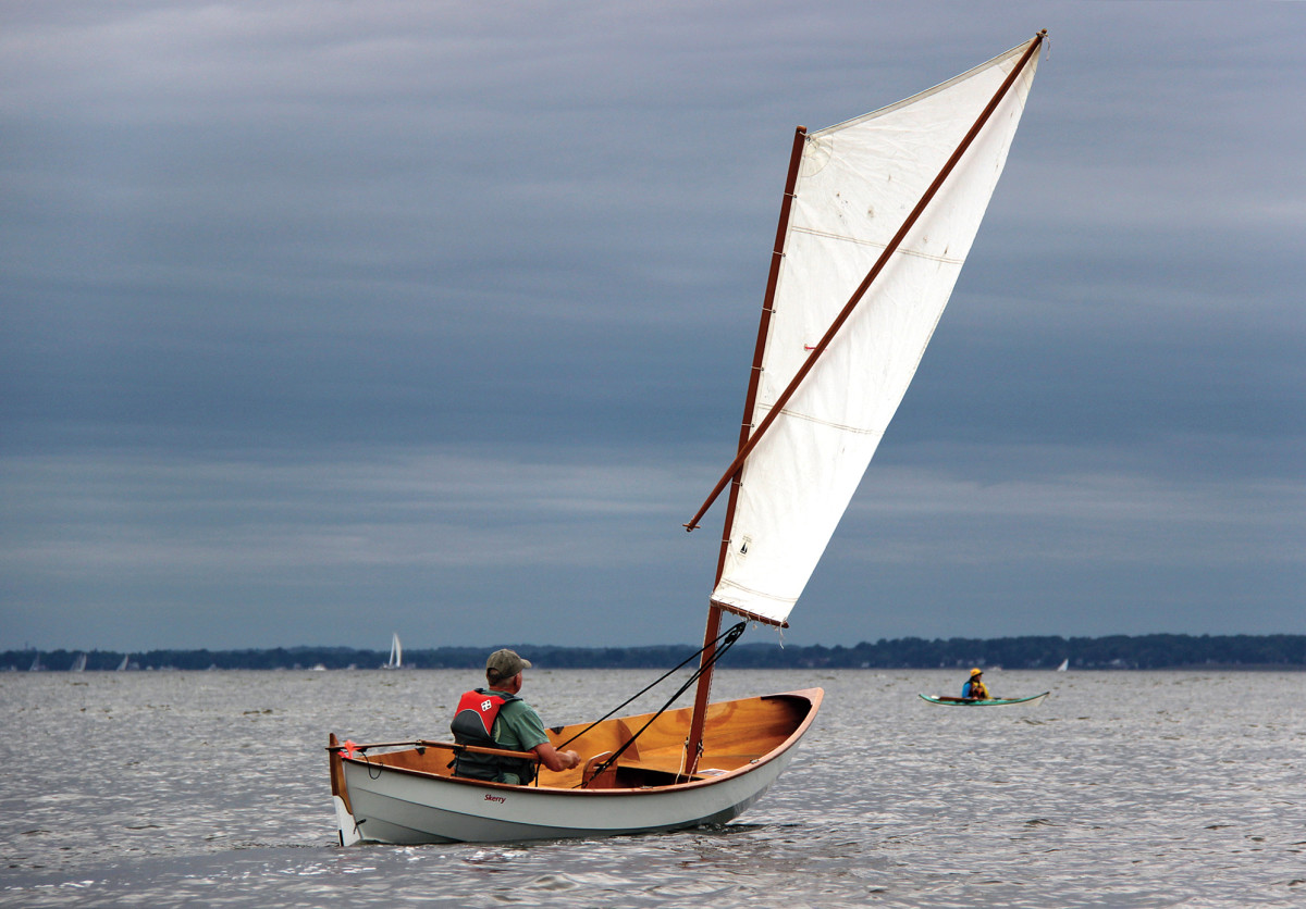 There's nothing like a simple boat with a simple rig and the simple joy of having built her yourself...