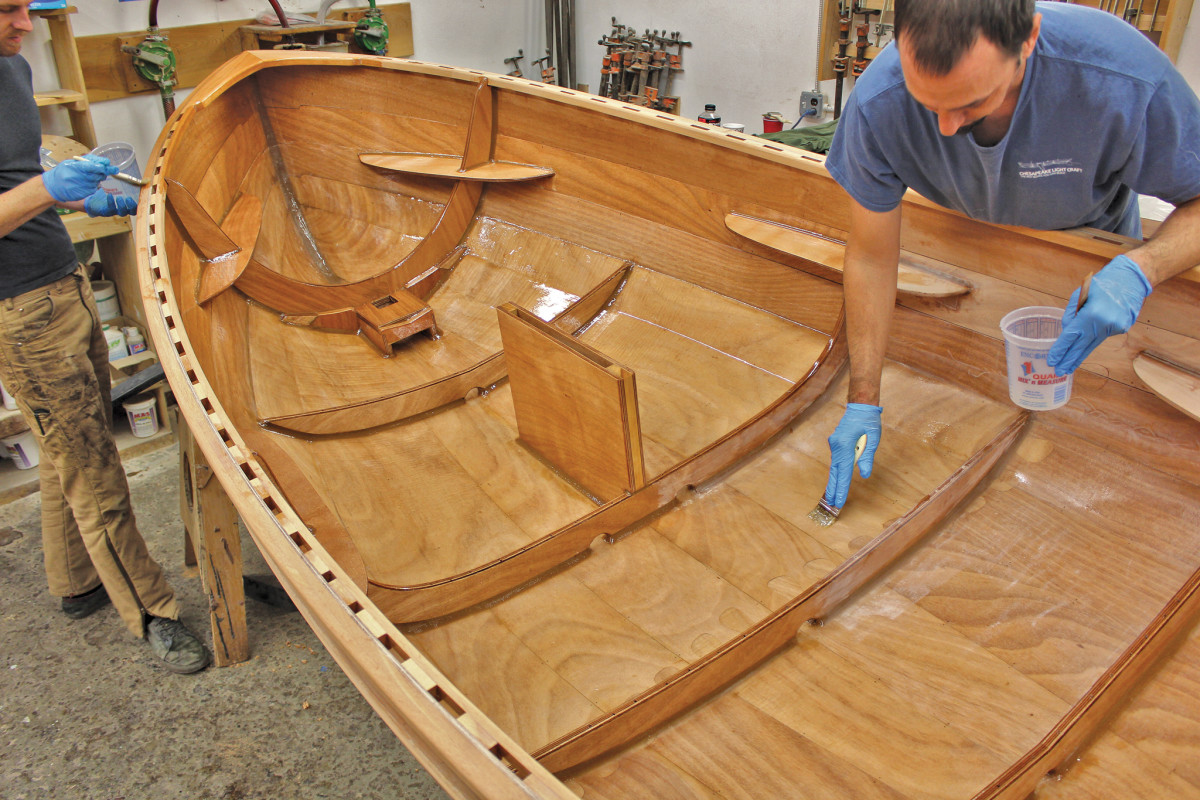 Building a boat from plans or a kit is well within the scope of a reasonably competent DIY-er