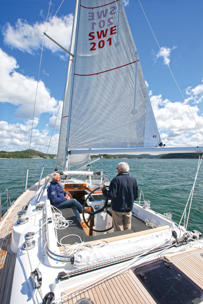 The ability to tailor sail area to the conditions is a major advantage of furling mainsails