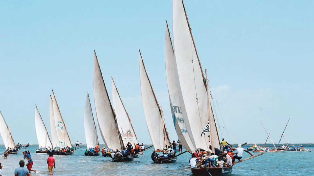The dhow race is among Lamu's greatest attractions