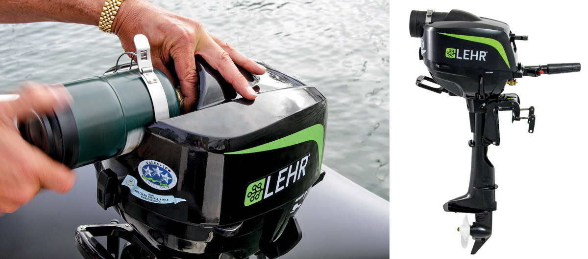 Gear Review: Lehr 2 5hp Propane Outboard - Sail Magazine