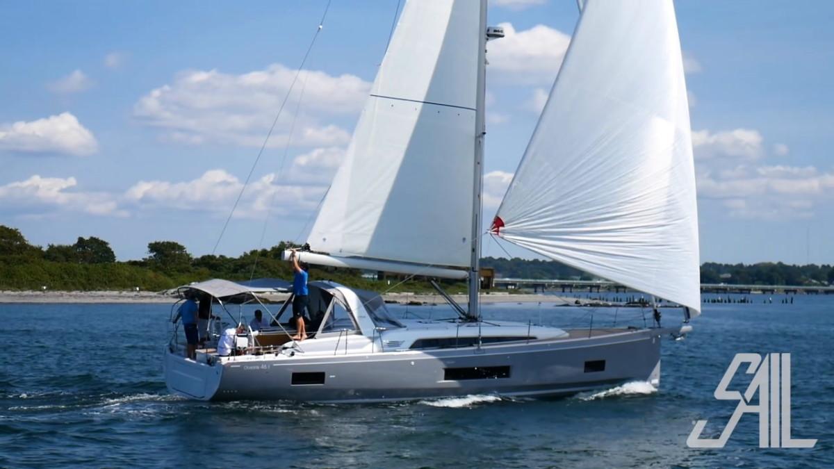 Sail Video Beneteau Oceanis 46 1