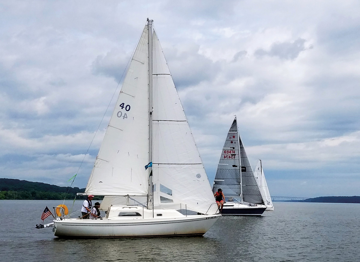 Back from the dead, the Pearson 26 Omen sails again