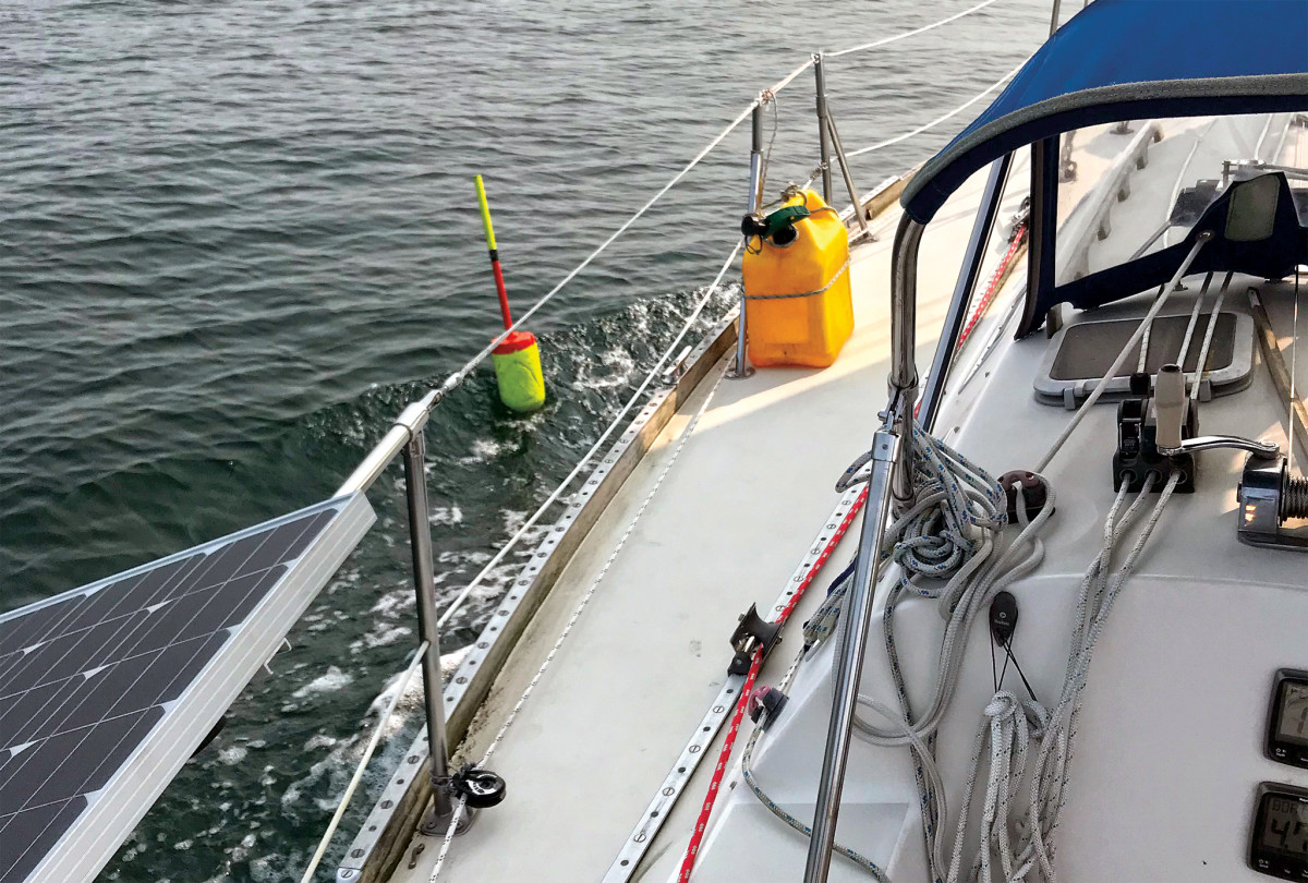 A close call in Maine's Penobscot Bay