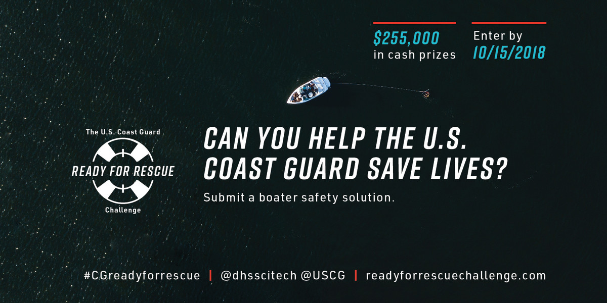 USCG Ready For Rescue Challenge_Launch Social Media Graphic