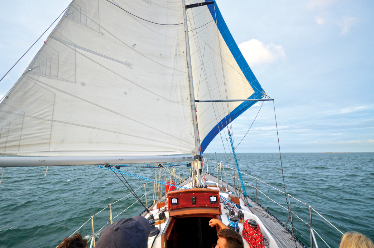 A well-functioning spin pole is essential for safe, efficient sailing dead downwind