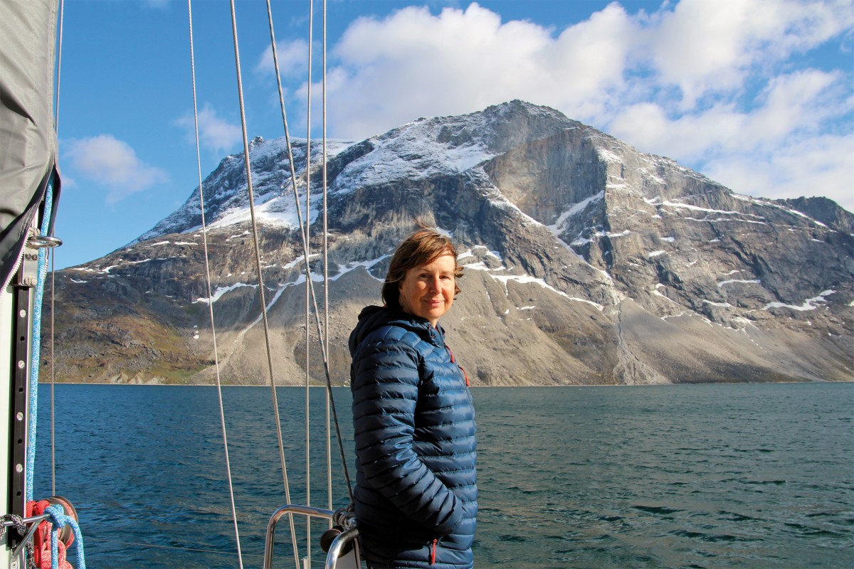 The author contemplates Greenland's stark beauty