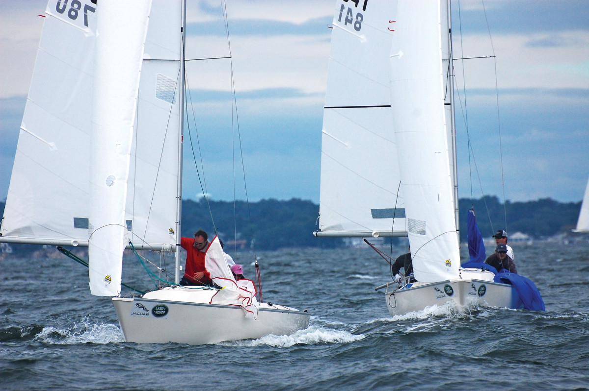 Nearly 40 boats took part in this year's nationals