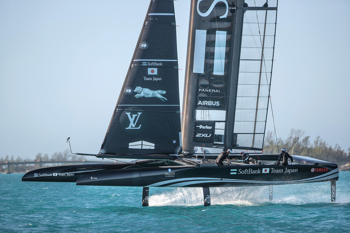 The SailGP circuit will use a turbo-charged version of the same boats that competed in Bermuda